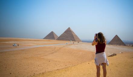 А сега на къде? - Египет